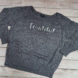 "3️⃣/$🔟❗Torrid ""beautiful"" sweater"